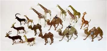 Variety of British Makers Zoo Assortment