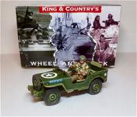 King  Country MG053 Airborne Jeep