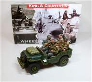 King  Country MG068 Airborne Jeep