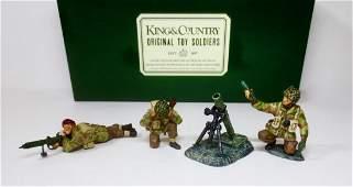 King & Country #AN08 British Paras Mortar Team