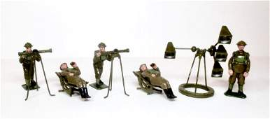 Britains Royal Army Anti-Aircraft Assortment