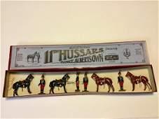Britains Set  182 Eleventh Hussars dismounted