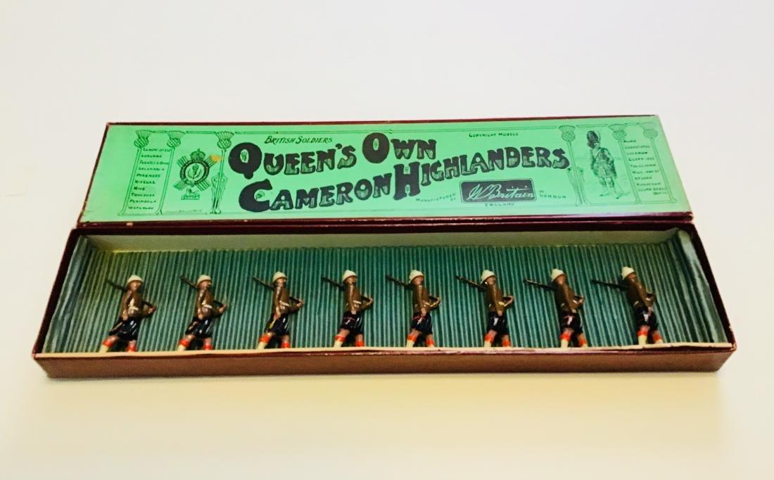 Britains Set # 114 Cameron Highlanders