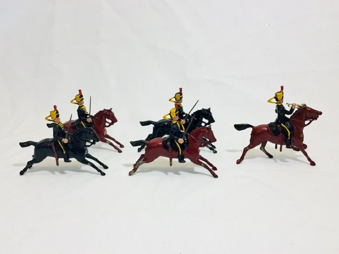 Britains Set # 8 Fourth Hussars