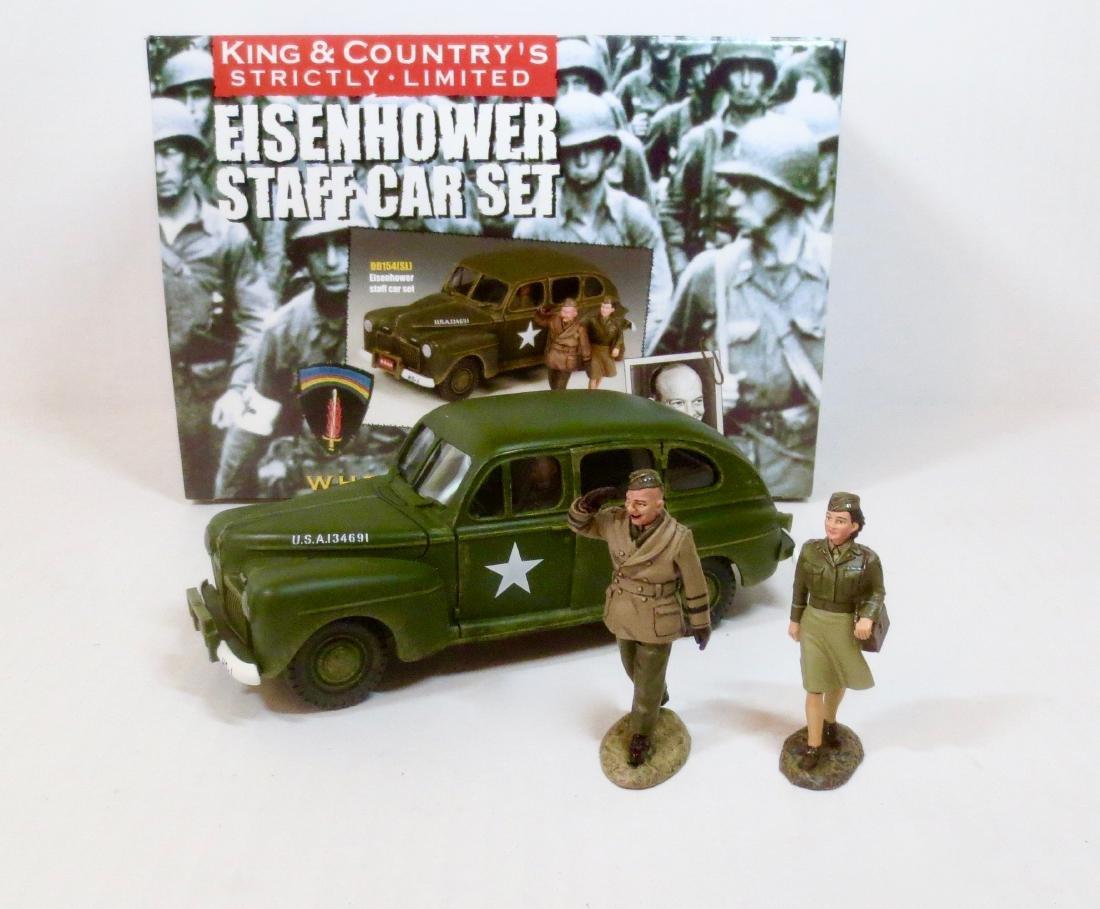 King & Country #DD154(SL) Eisenhower Staff Car