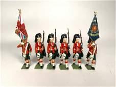 Britains Set 2111 Blackwatch Color guard