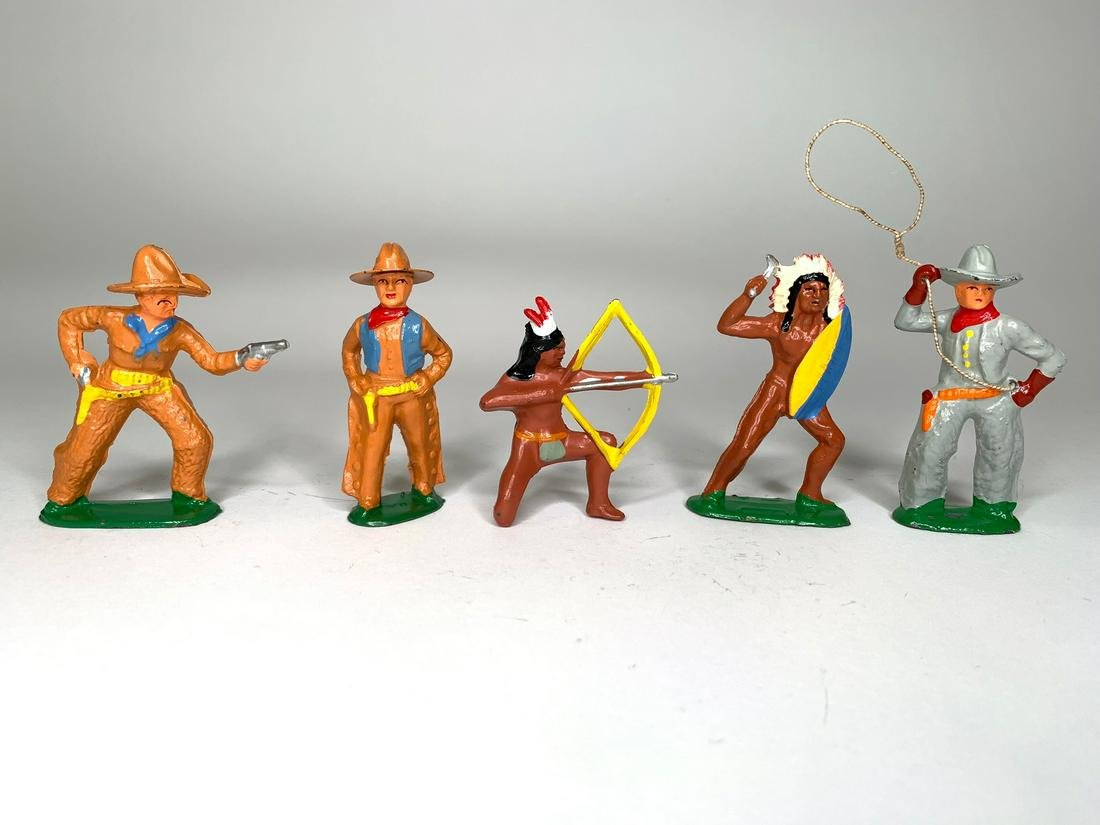 Barclay Cowboys and Indian on Foot