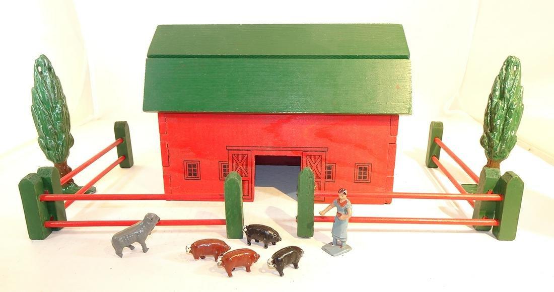 Lincoln Log Barn