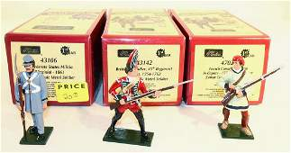 Britains Redcoats and Bluecoats