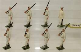 Britains Set 1253 US Sailors White Jackets