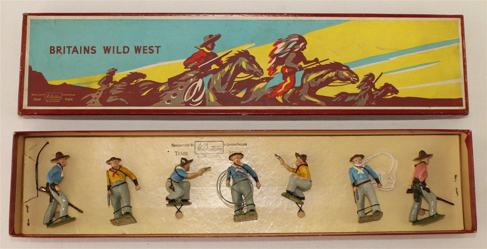 Britains Set #183 Cowboys on Foot