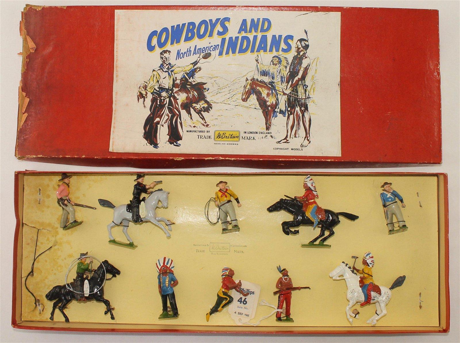 Britains Set #272 North American Indians Cowboys