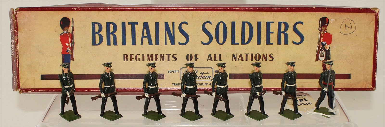 Britians Set #2088 Duke of Cornwall's Infantry