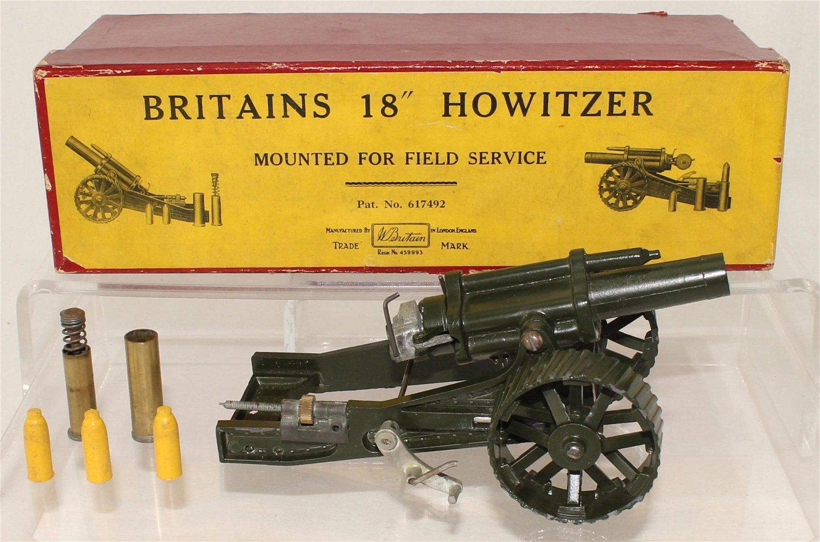 Britains Set #2107 18in Howitzer Tractor Wheels