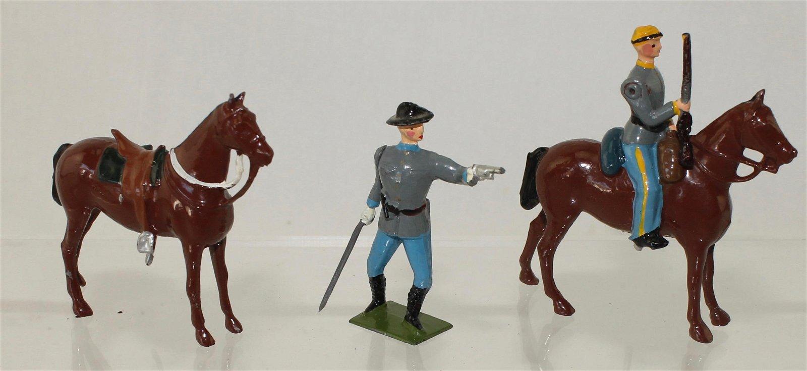 Britains Set #2141 Half Set Confederate Cavalry