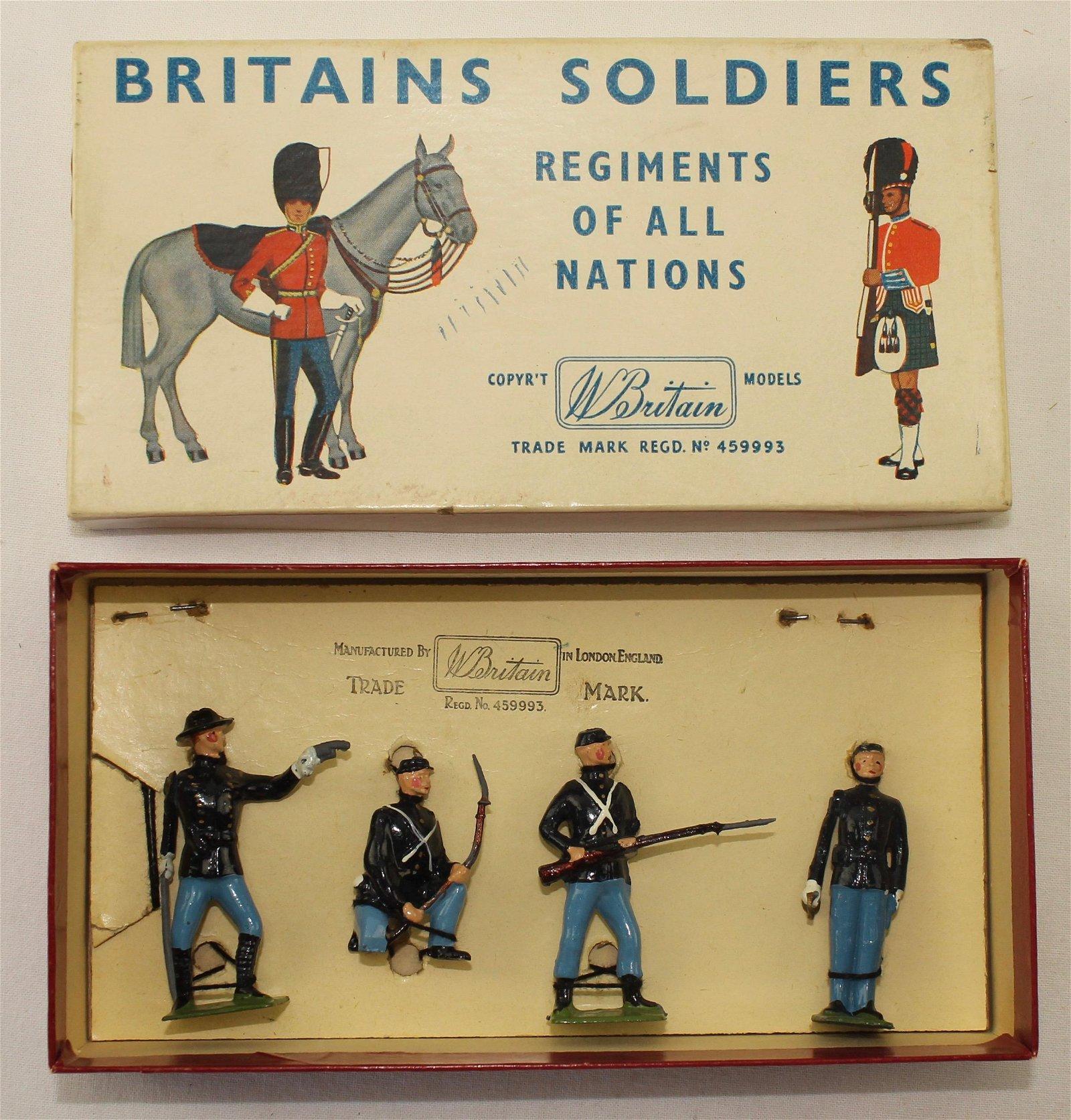 Britains Set #2142 Half Set ACW Union Infantry