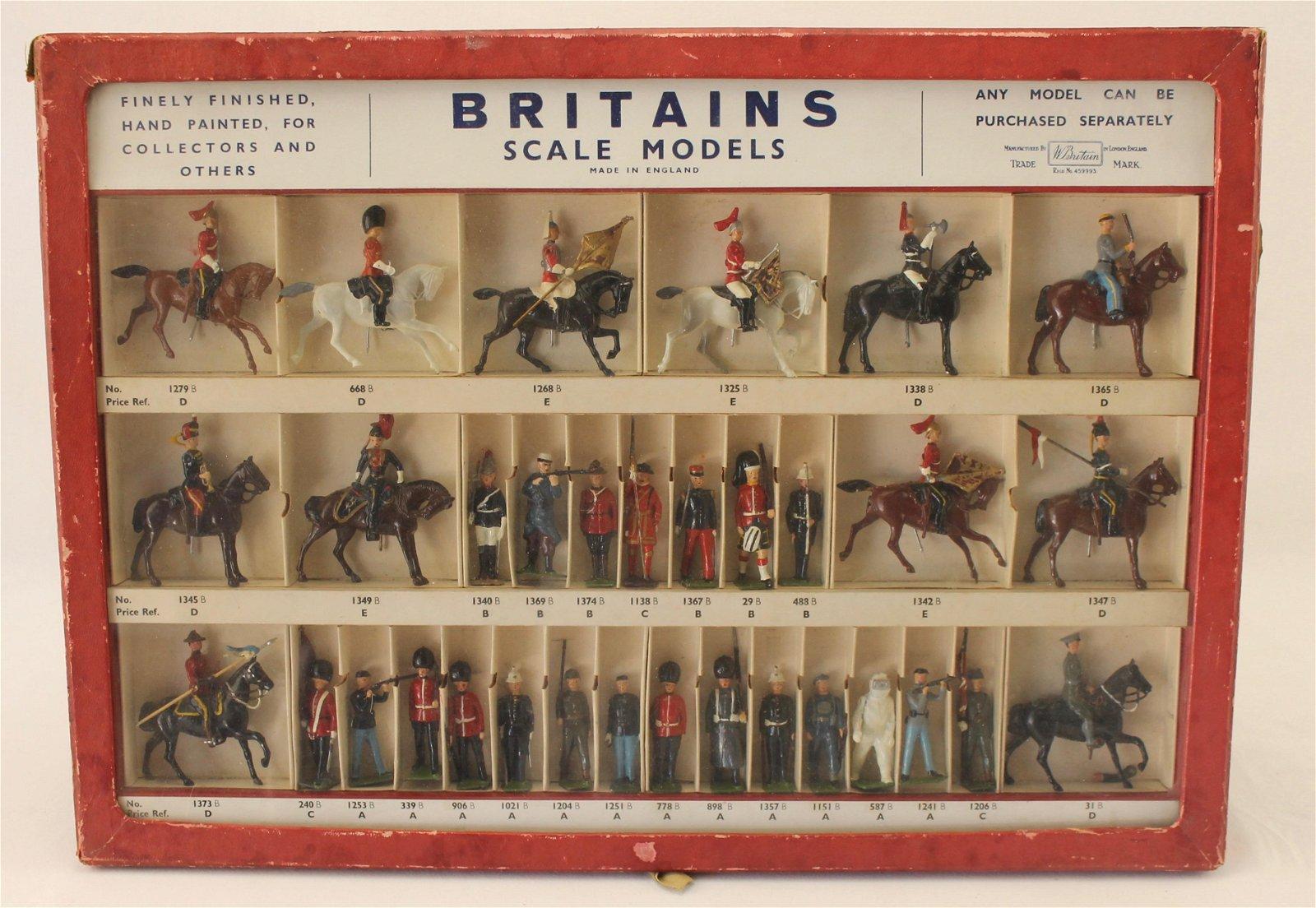 Britains Set #3/116 Retail Picture Pack Display