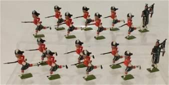 Britains Set #88 Seaforth Highlanders Charging