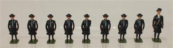 Britains Set 1332 Girl Guides with Guider