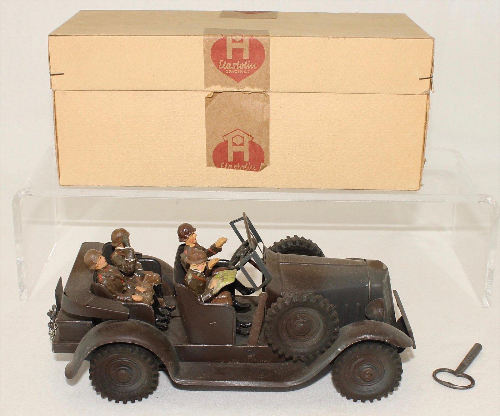 Elastolin Set #733 German Army Kubelwagon