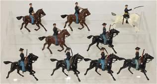 Britains Lot ACW Union Cavalry