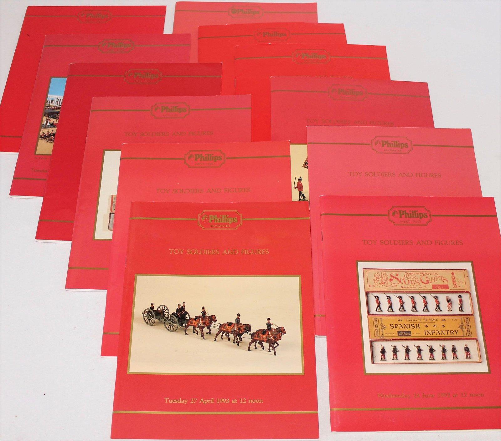 Lot of Phillips London Auction Catalogs
