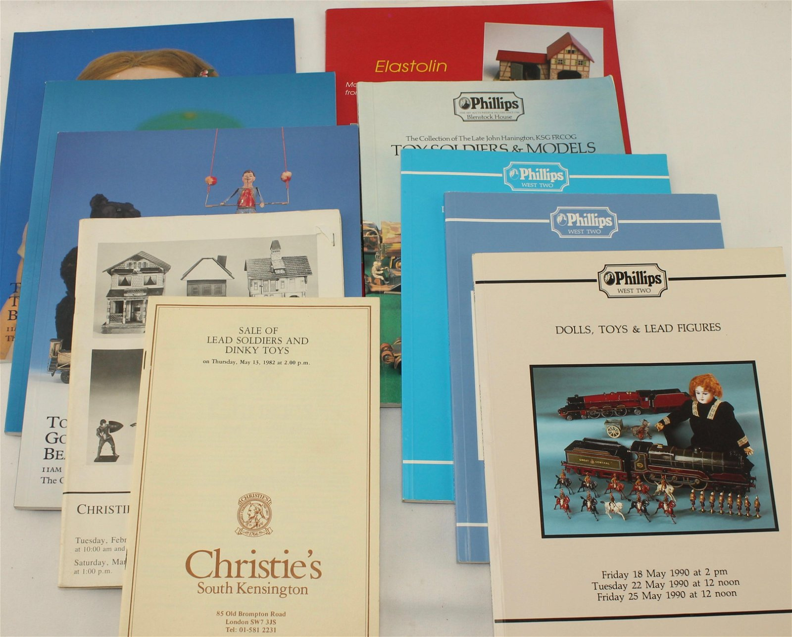 Lot of Christies and Phillips Auction Catalogs