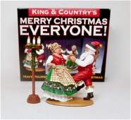 King  Country XM00902 Merry Christmas Set