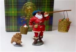 King  Country XM00401 Christmas Santa Set