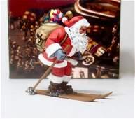 King  Country XM01301 Skiing Santa