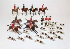 Britains Large Assortment of Hunt Figures