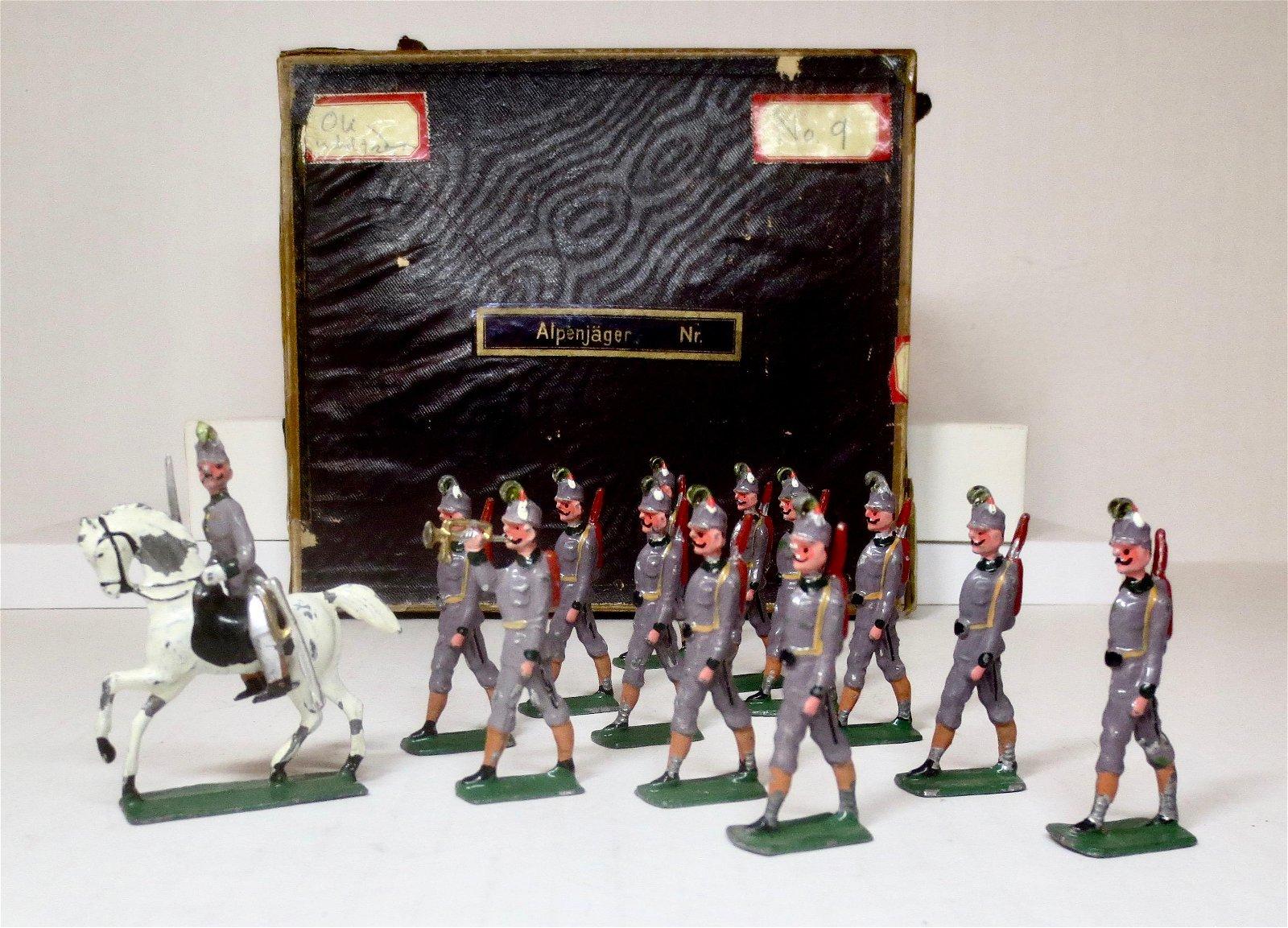 RARE Wollner or Similar Alpenjager Boxed Set