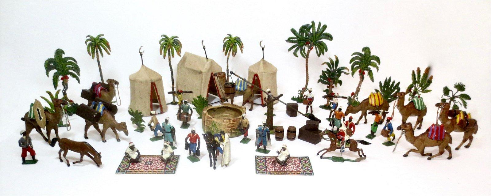 Heyde EXCEPTIONALLY RARE Arab Encampment Set
