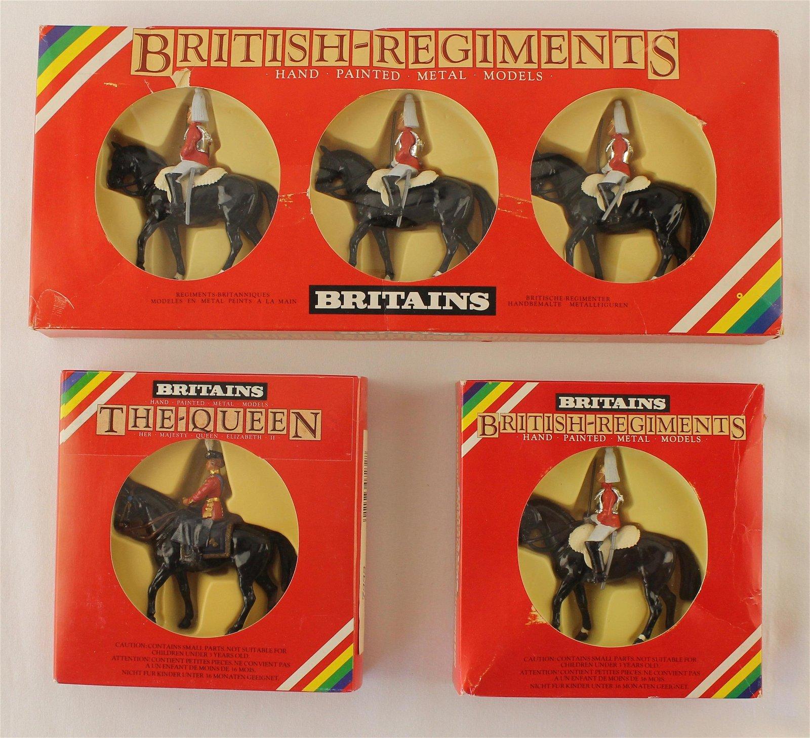 Britains Lot Horse Guards Queen Elizabeth II