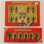 Britains Lot United States Marine Color Party