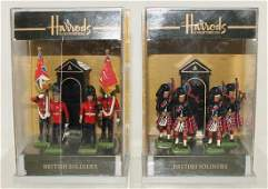 Britains Lot Scots Guards and Island Bag Pipers