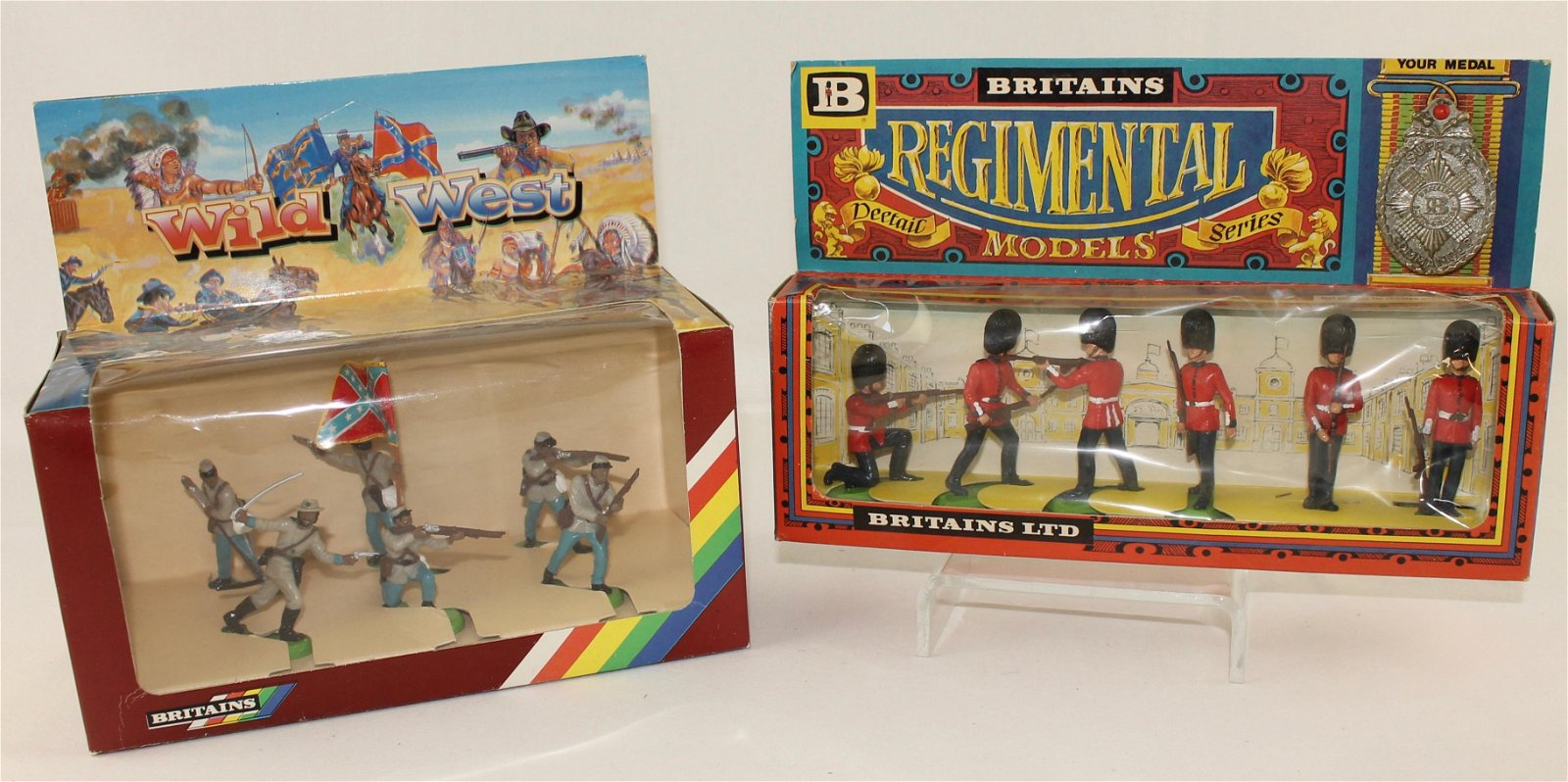 Britains Lot Confederates and Scots Guards