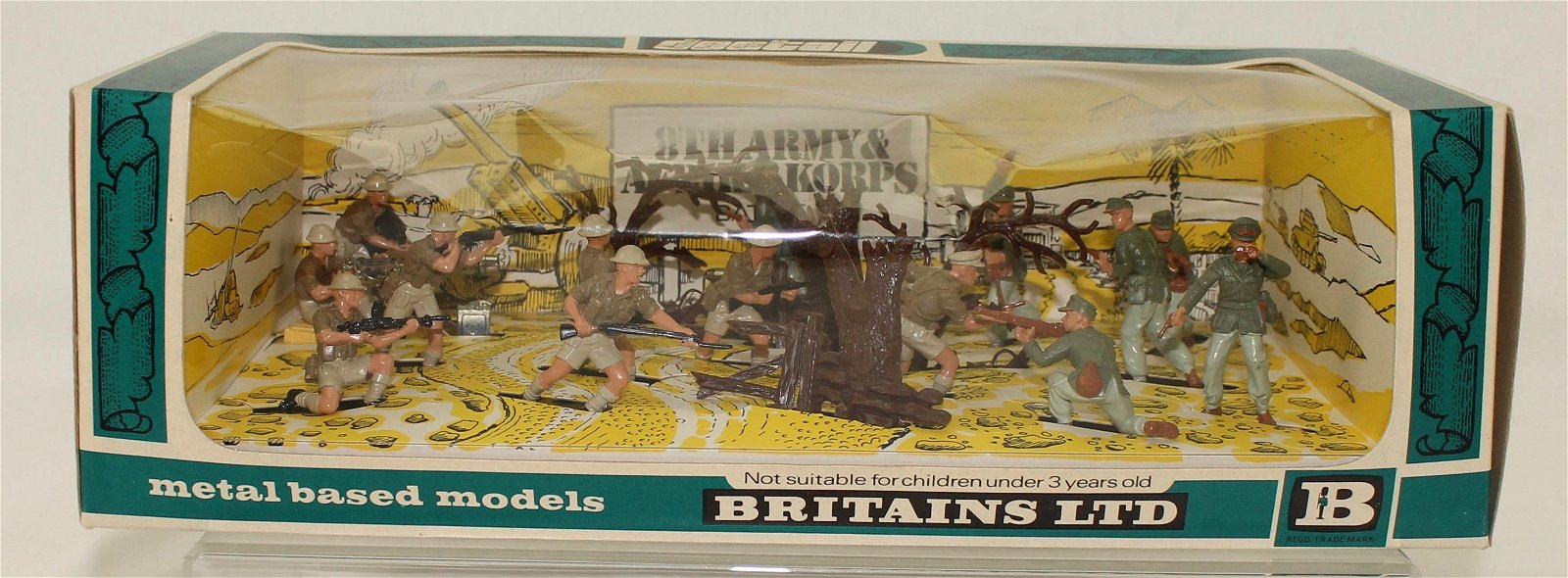 Britains Deetail Afrikan Corps 8th Army Battle