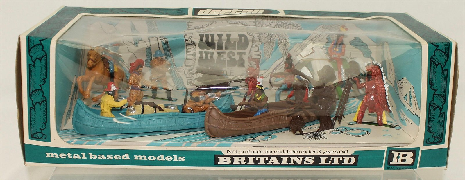 Britains Deetail Cowboys and Indians Battle