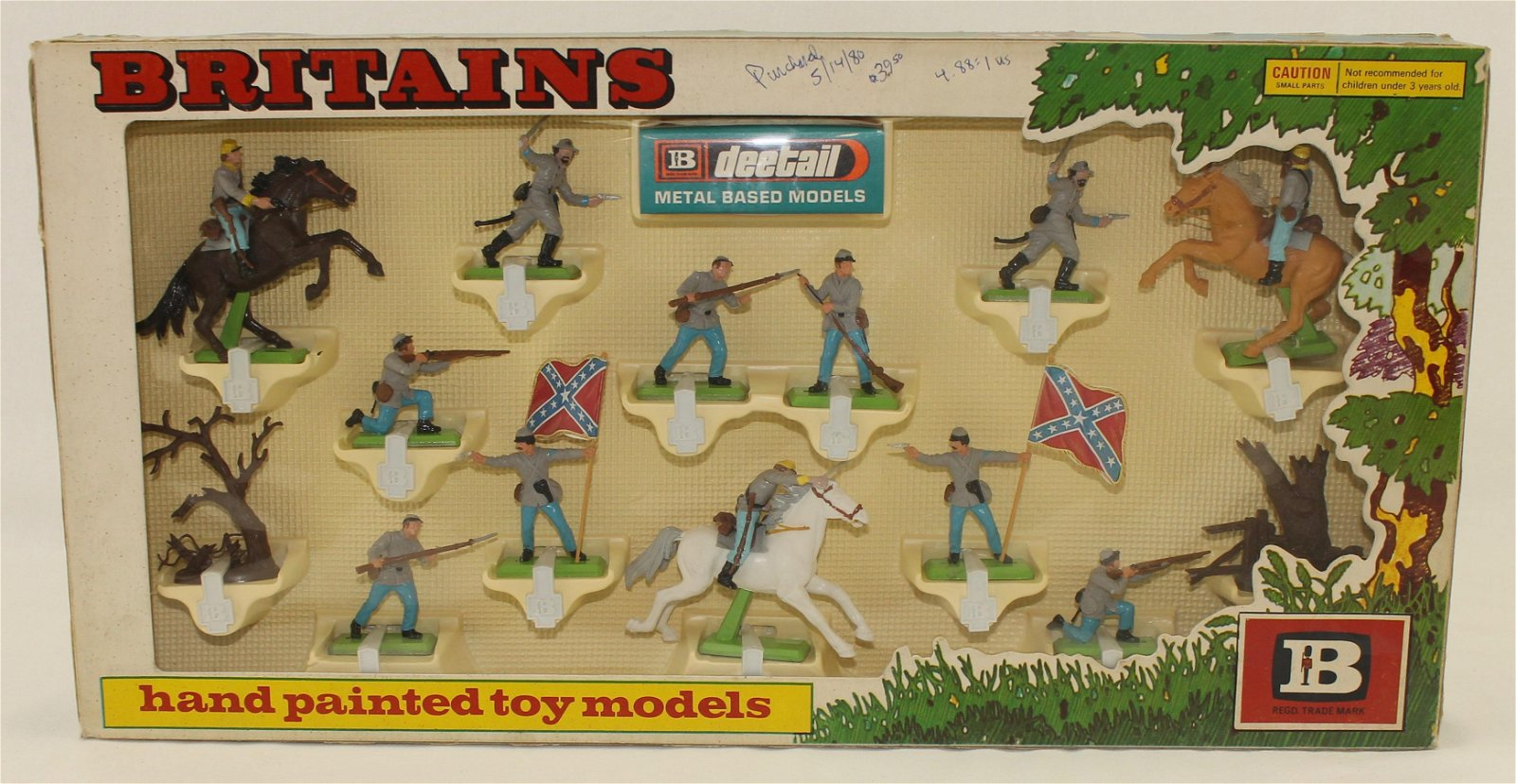 Britains Deetail Confederate Forces