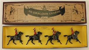 Britains 5th Dragoon Guards Mounted