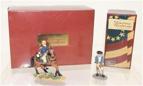 Britains Lot George Washington and Trooper