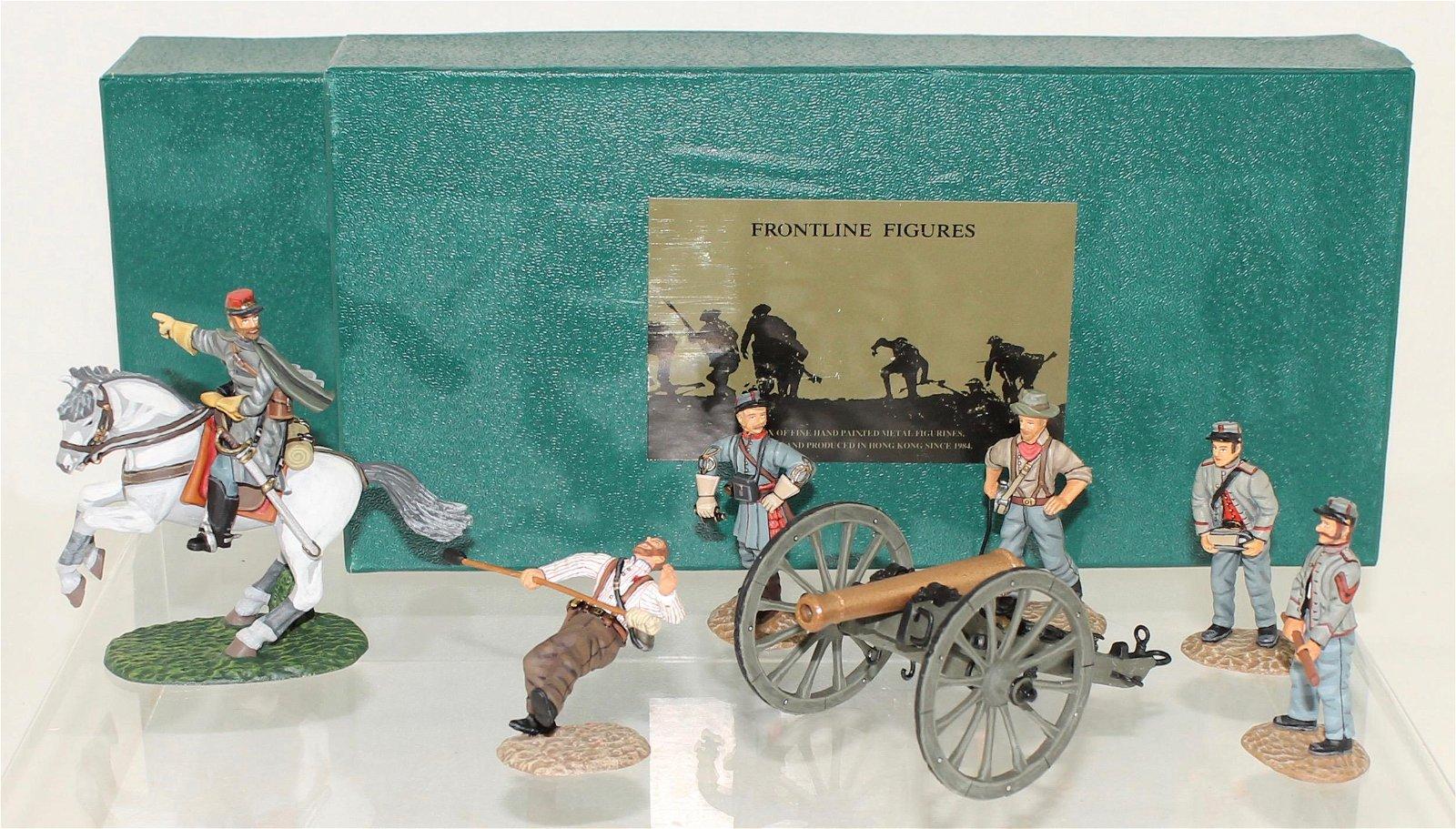 Frontline Lot ACW Confederate Artillery