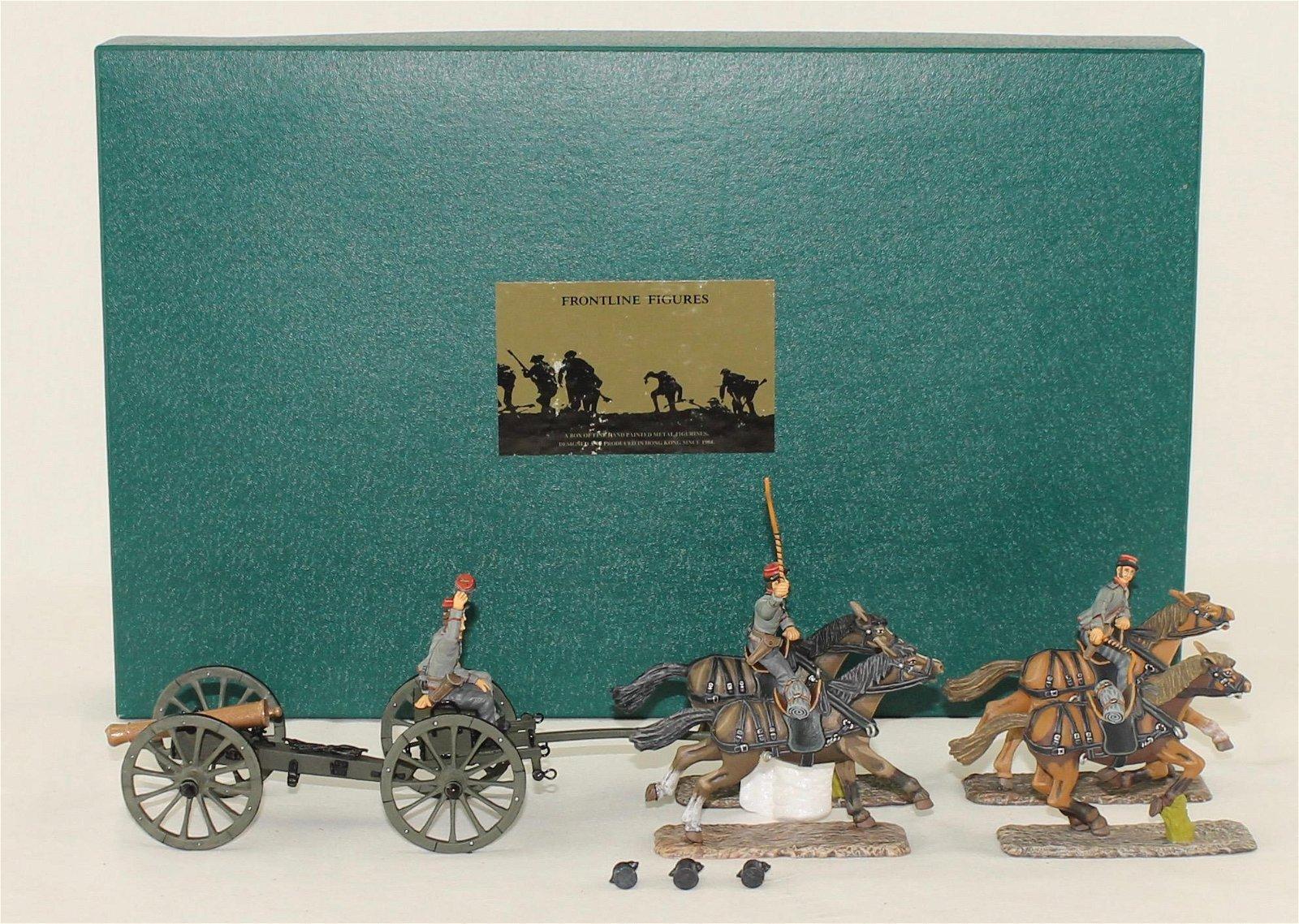Frontline ACW Confederate Horse Drawn Cannon