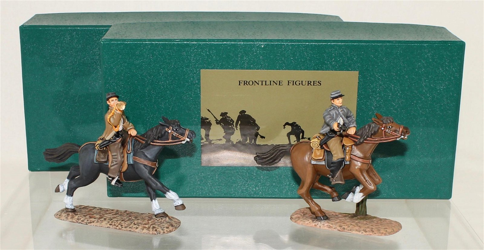 Frontline Lot ACW Confederate Cavalry and Bugler
