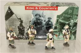 King and Country German Army Advancing