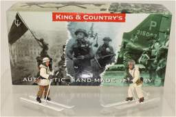 King and Country German Army Ski Troopers