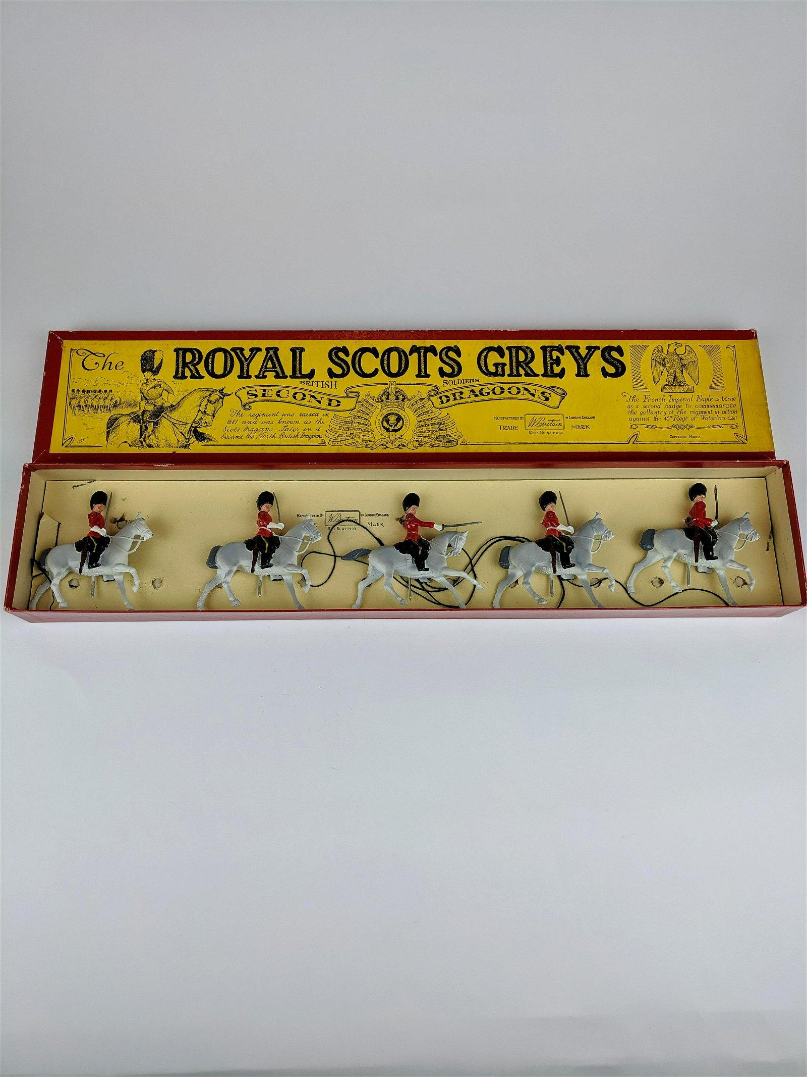 Britains #32 Royal Scot Greys