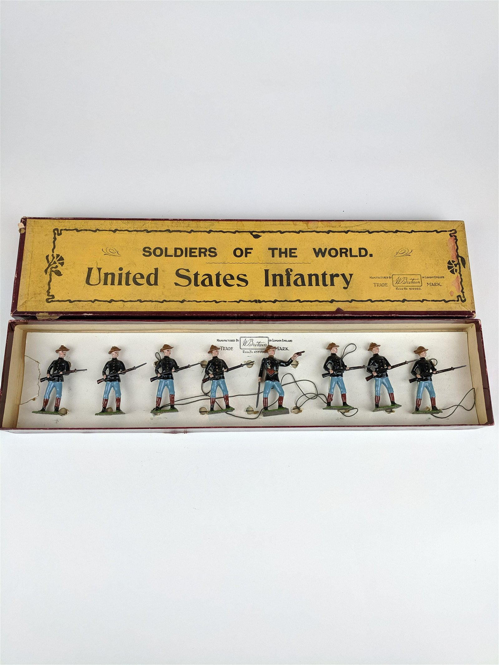 Britains #91 United States Infantry