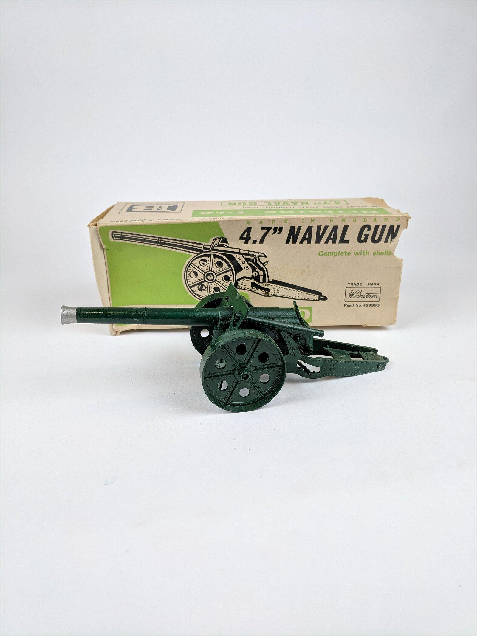 Britains #9730 4.7 Naval Gun
